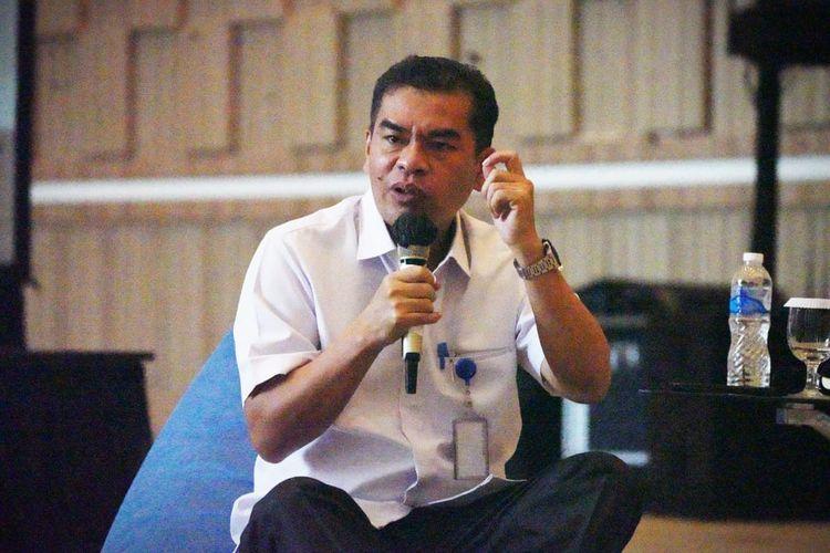 Harapan Lumban Goal sebagai Narasumber dalam kegiatan Penguatan  Agen Perubahan Direktorat Linjamsos