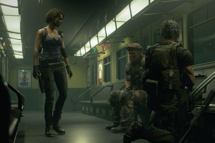 Hasil gambar untuk gambar game resident evil 3 remake