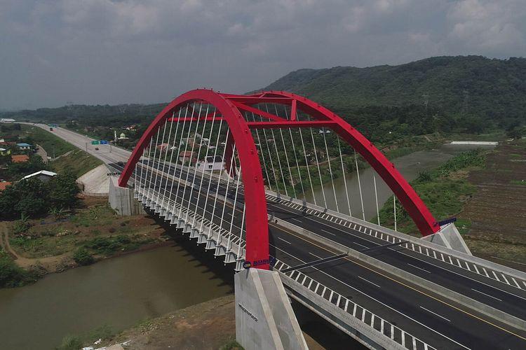 Jembatan Kali Kuto, Batang, Jawa Tengah, Kamis (23/5/2019).