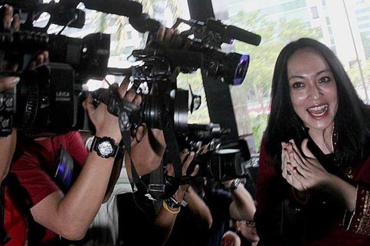Mantan anggota Badan Anggaran DPR dari Fraksi Partai Demokrat, Angelina Sondakh, diperiksa Komisi Pemberantasan Korupsi (KPK), Jakarta, Agustus 2013 lalu.