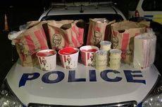 Polisi Selandia Baru Tangkap Dua Pria yang Borong Makanan KFC Tengah Malam
