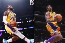 Video - LeBron James Lagi-lagi Pamer Skill Mirip seperti Kobe Bryant