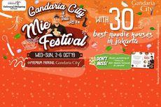Pencinta Bakmi, Wajib Datangi Gandaria City Mie Festival & Tirta Lie Part 2.0