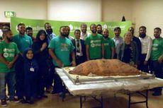 Kelompok Muslim Aid Cetak Rekor Samosa Terbesar di Dunia