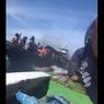 Viral Video Speedboat Polairud Polda Sulsel Pepet Perahu Nelayan, Bagaimana Kronologinya?