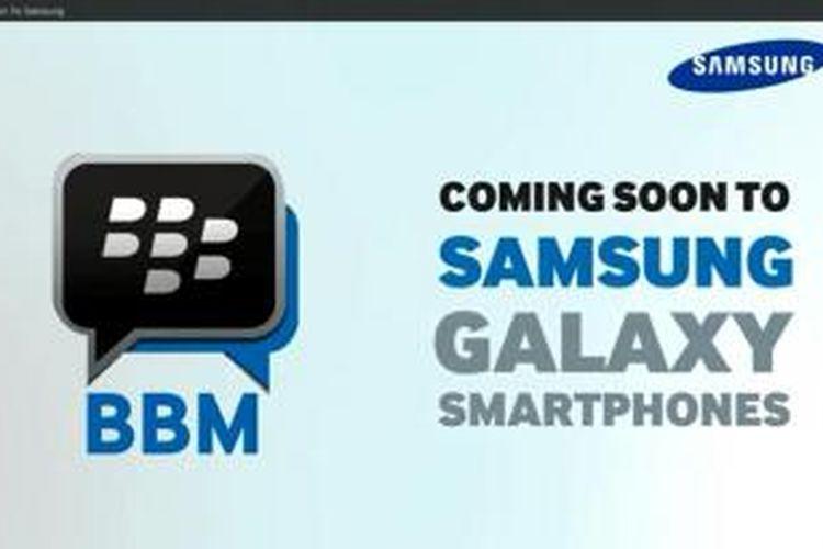 Iklan video BlackBerry Messenger yang dibuat oleh Samsung Ghana