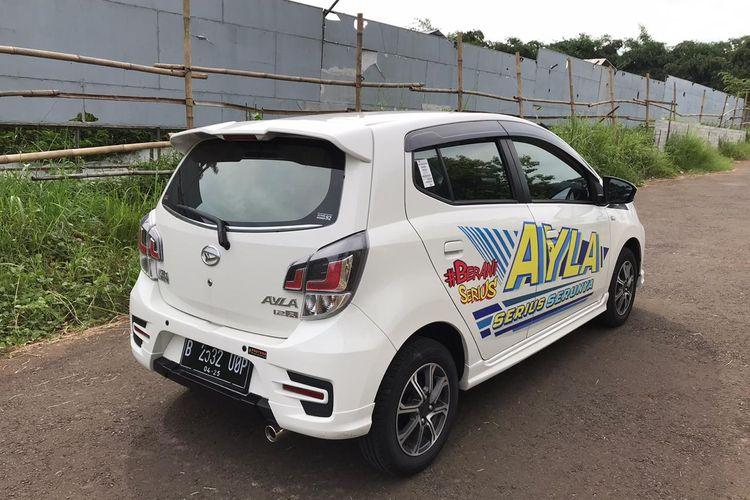 Test Drive Daihatsu Ayla