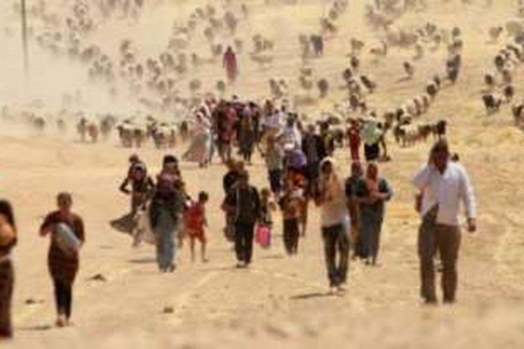 Yazidi bukan pemeluk Islam dan juga bukan etnik Arab dengan keyakinan tradisional sendiri.