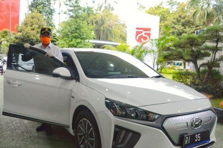 Hyundai Ioniq Menteri Perhubungan