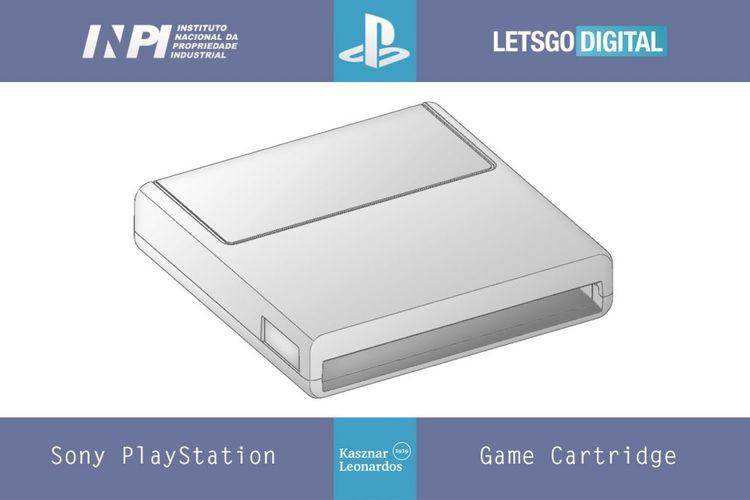 Ilustrasi paten cartridge untuk Sony yang diduga untuk PS5.