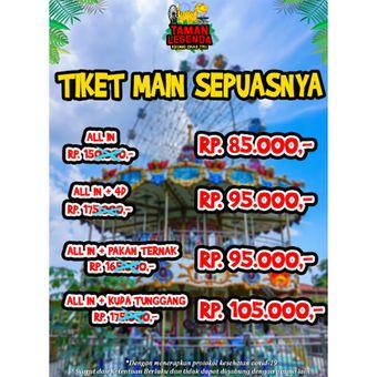 Harga tiket Taman Legenda Keong Emas TMII.