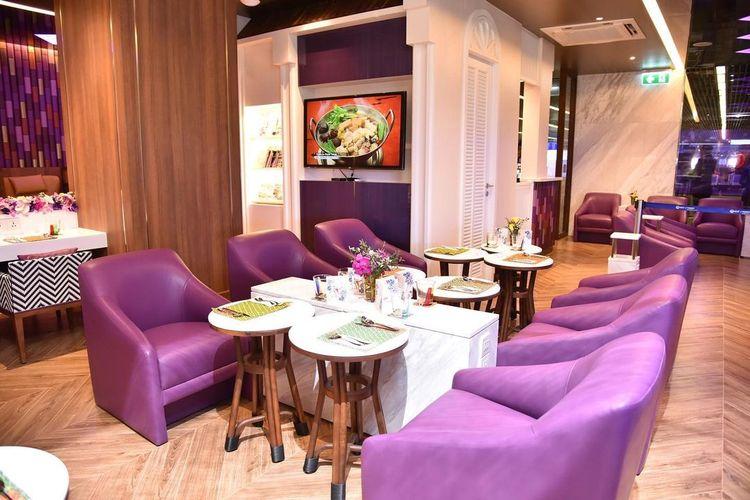 Lounge milik Thai Airways di Bandara Phuket