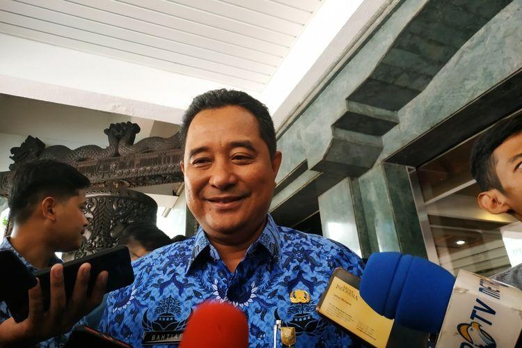 Kapuspen Kemendagri, Bahtiar, saat memberikan keterangan di Kantor Kemendagri, Jakarta Pusat, Jumat (17/1/2017).
