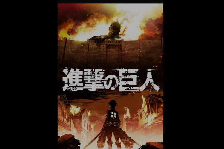 Serial anime Attack on Titan.