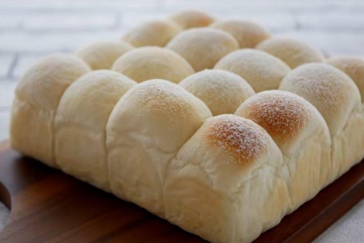Resep Roti Sobek Jepang Yang Viral Japanese Milk Bread Tanpa Telur Halaman All Kompas Com