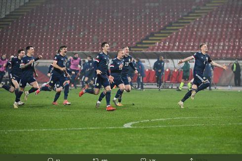 Hasil Playoff Euro 2020 - Skotlandia Lolos, Islandia Tersingkir