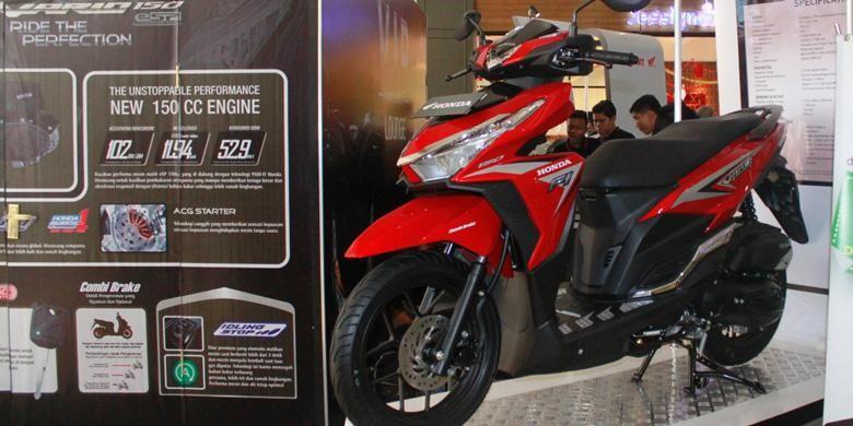 Honda All-New Vario 150 eSP diperkenalkan di Bandung.