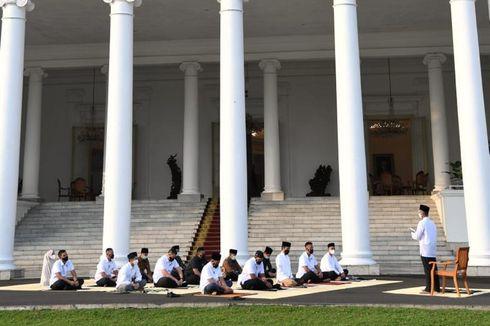 Jokowi Shalat Id di Istana Bogor, Anggota Paspampres Bertindak sebagai Imam dan Khatib