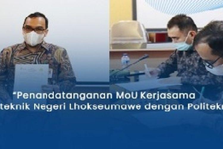 PNL menandatangani kesepakatan kerjasama dengan Politeknik Aceh dalam bidang pendidikan.