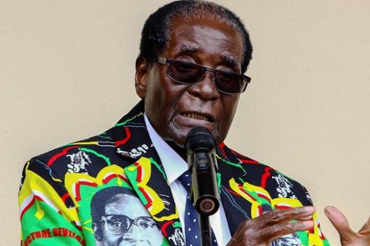 Presiden Zimbabwe, Robert Mugabe.