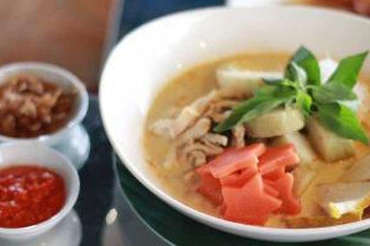 Laksa Benteng, salah satu menu kuliner Nusantara yang ditawarkan Atria Hotel Serpong.
