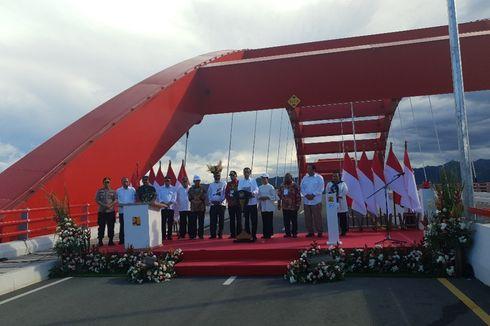 Jokowi Resmikan Jembatan Youtefa, Tonggak Sejarah di Papua