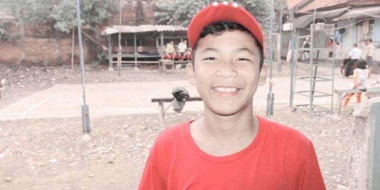 Striker timnas U-16 Indonesia, Sutan Diego Armando Zico.