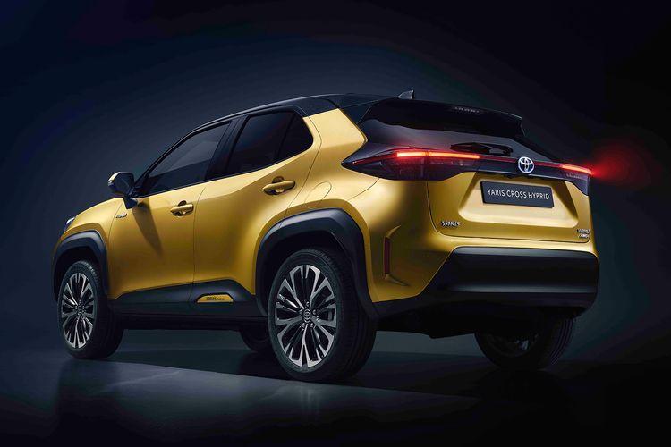 Ilustrasi Toyota Yaris Cross