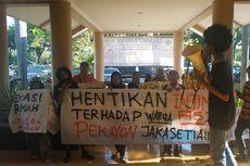 Ingin Menginap, Korban Gusuran yang Demo di BPN Bekasi Dibubarkan Paksa