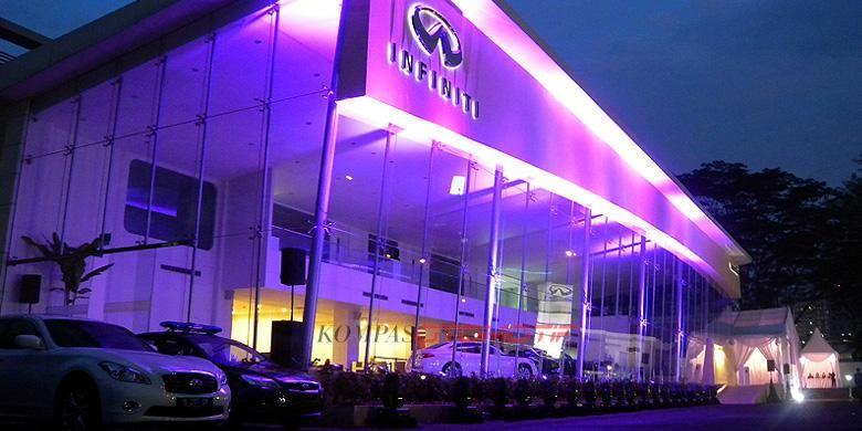 Performa penjualan Infiniti di Indonesia kurang optimal.
