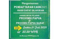Seleksi PPPK Guru Provinsi Papua-Papua Barat Tutup 31 Juli 2021
