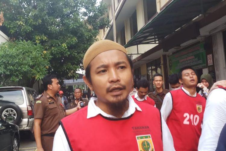 Terdakwa Zul Zivilia atas dugaan kasus kepemilikan dan penyalahgunaan narkoba saat ditemui di Pengadilan Jakarta Utara, Senin (9/12/2019).