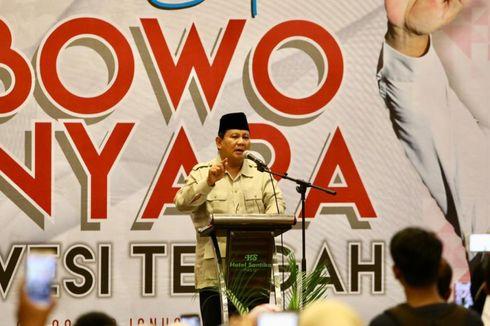 Prabowo: Inteli Musuh Negara, Jangan Inteli Mantan Presiden