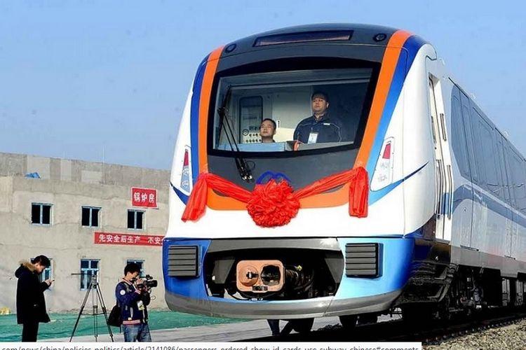 Jaringan kereta api bawah tanah Xinjiang akan beroperasi penuh pada akhir tahun ini.