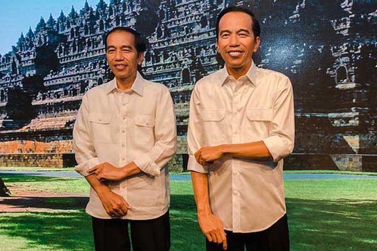 (Patung Lilin Presiden Joko Widodo di Madame Tussauds Hong Kong)