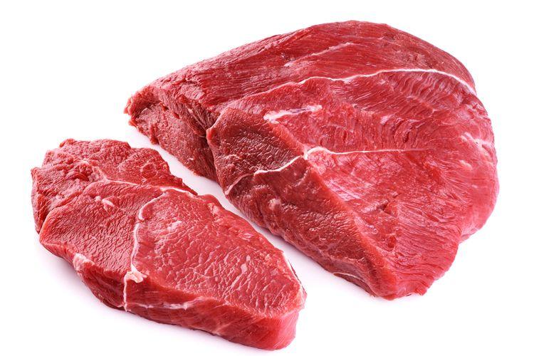 Ilustrasi daging sapi segar.
