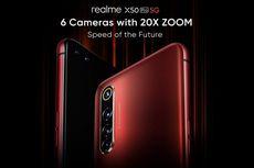 Realme X50 Pro 5G Dipastikan Punya Enam Kamera dan Zoom 20x