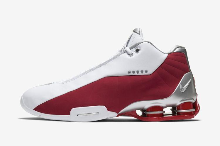 Sepatu ikonik Vince Carter Nike Shox BB4