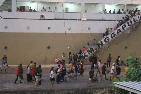 H-3 Natal, Ribuan Pemudik Terpantau Tinggalkan Pelabuhan Ambon
