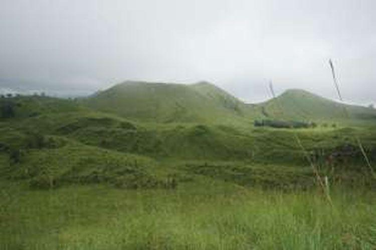 Kawah Wurung di Kabupaten Bondowoso
