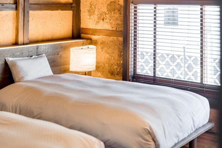 Ruangan di Kastil Ozu yang kini difungsikan sebagai hotel