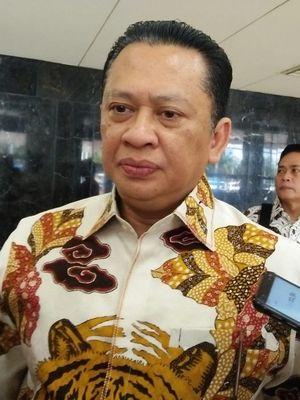 Ketua DPR RI Bambang Soesatyo di Kompleks Parlemen, Senayan, Jakarta, Kamis (27/6/2019).