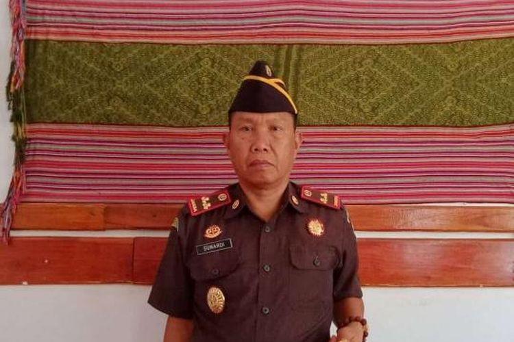 Foto Kepala Kejaksaan Negeri Timor Tengah Utara (TTU), Nusa Tenggara Timur Bambang Sunardi