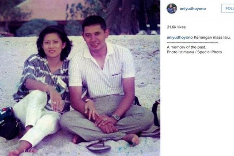 Foto Presiden keenam Susilo Bambang Yudhoyono dan Ani Yudhoyono
