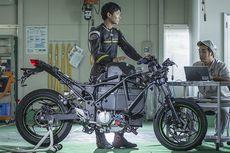 Kawasaki Patenkan Sistem Tukar Baterai pada Motor Listrik Endeavor