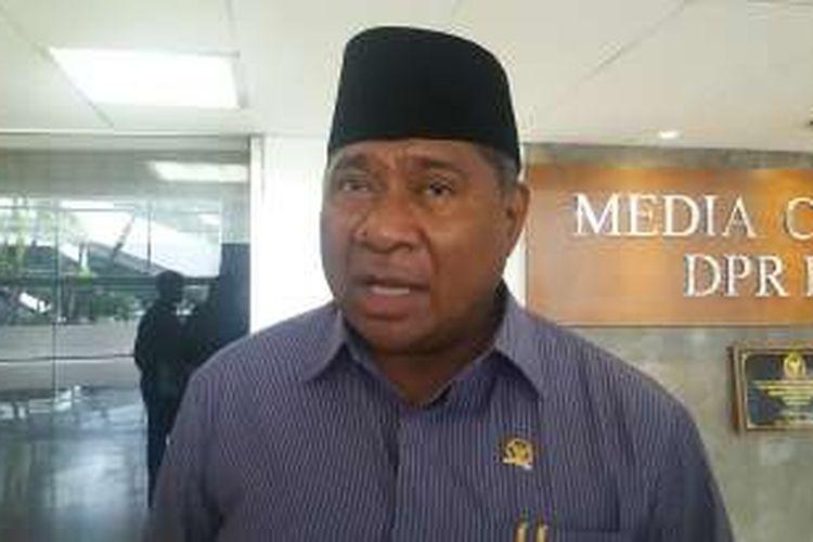 Ketua Komisi VIII DPR, Ali Taher Parasong di Kompleks Parlemen, Senayan, Jakarta, Kamis (12/1/2017).