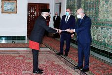 Dubes RI Sampaikan Surat Kepecayaan ke Presiden Aljazair