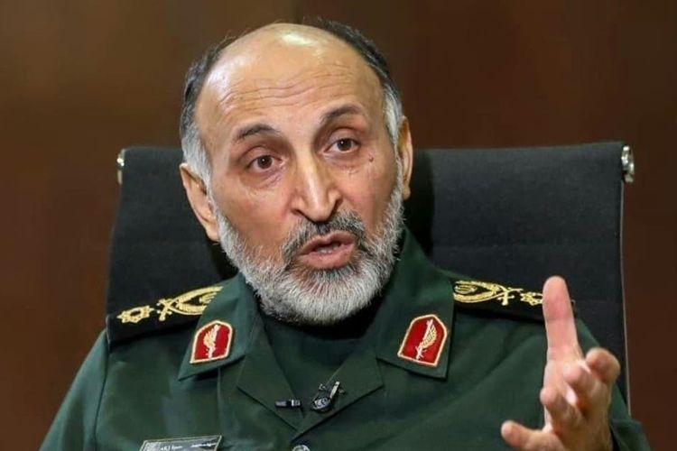 Wakil Komandan Pasukan Quds Iran, Brigadir Jenderal Mohammad Hejazi.
