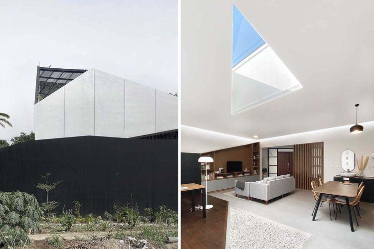 Desain skylight karya Aaksen Responsible Aarchitecture