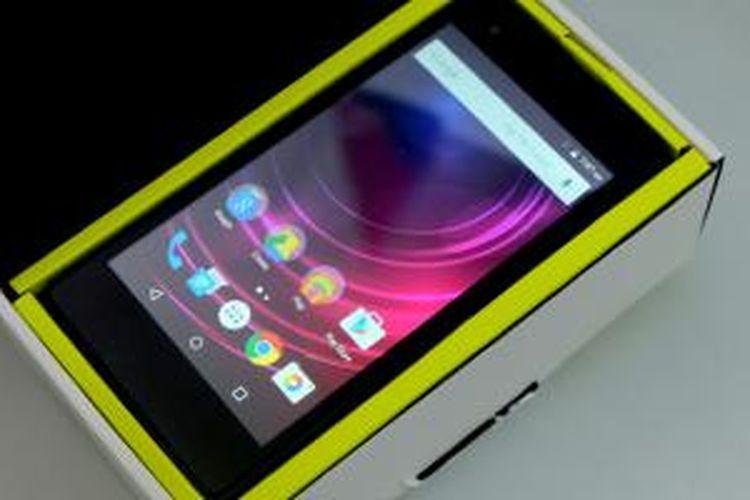 Infinix Hot 2 sejatinya merupakan Android One di Afrika, namun kini dibawa ke Indonesia